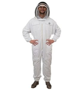 Humble Bee Polycotton Beekeeping Suit with Fencing Veil